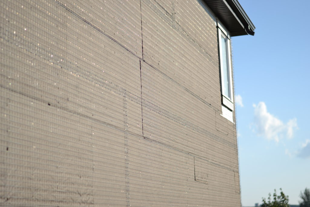 Project UP - Exterior Finishes